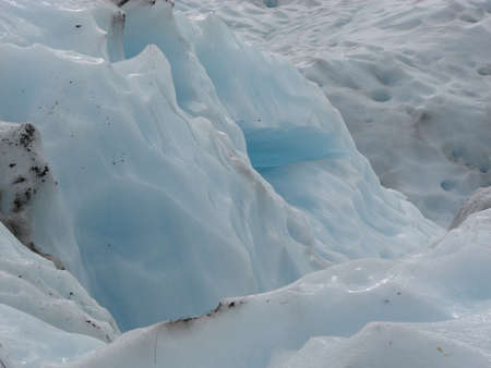 fox glacier: Fox Glacier in the south island of New Zealand