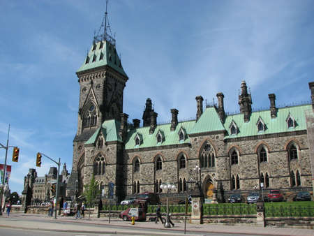 Parliament buildings in Canada Banco de Imagens