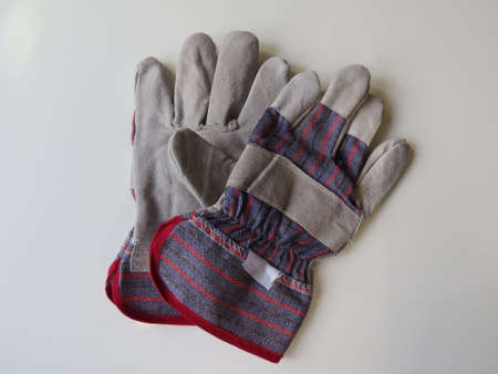 manual work: Pair of gloves used to protect hands during manual work.