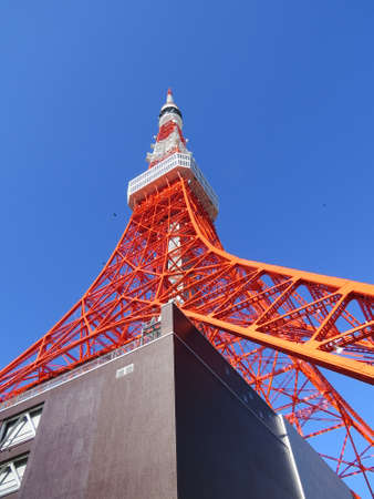 The Tokyo Tower is the second highest structure in Tokyo (another, taller tower has now been built) and is a well known landmark. On a clear day, good views of mount Fuji can be seen from the observation deck.