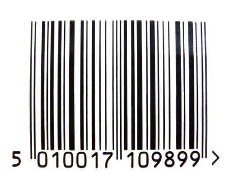 Bar code used to track goods through the retail system.