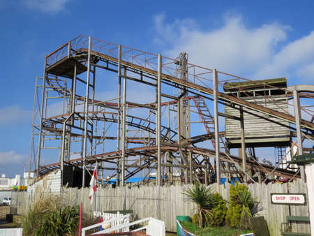 tame: Old fashioned roller coaster dating from the 1960s. Somewhat tame by today\\\\