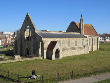 Garrison church in Old Portsmouth is the oldest of its kind in the world (built 1212). The roof of the nave was destroyed in an air raid in 1941 and never replaced.