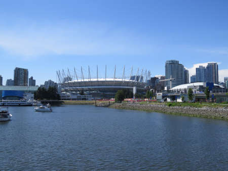 vancouver: Sports stadium in Vancouver, Canada.