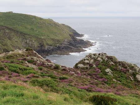 cornish: View of the Cornish coastline.