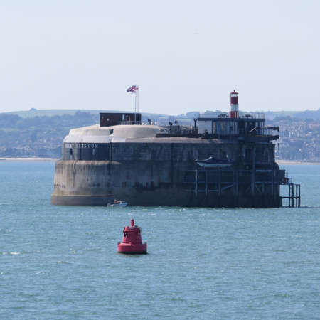portsmouth: One of a series of forts built in the Solent. These were used to protect Portsmouth harbour during Napoleonic times.