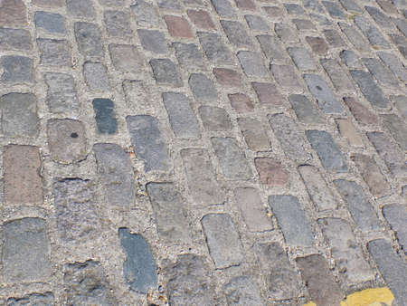 cobblestones: Background of cobblestones on a road in Old Portsmouth.