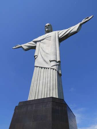 rio de janeiro: Christ the Redeemer statue in Rio de Janeiro, Brazil.