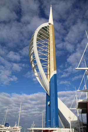 spinnaker: Spinnaker Tower completed just after the turn of the last century, it is already a well known Portsmouth landmark.