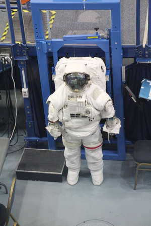 spacesuit: Spacesuit used when working in the vacuum of space.