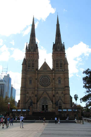 mary's: ST Marys cathedral in Sydney, Australia.