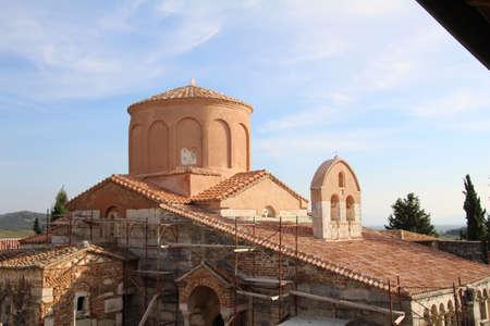 Church in the Albanian town of Kruja.