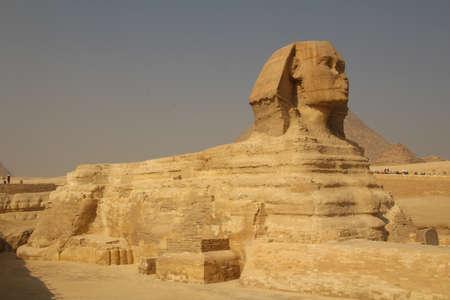 The Great Sphinx at Giza near Cairo, Egypt. Stock Photo