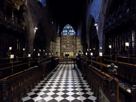 Interior view of Newcastle Cathedral.