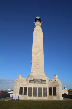 War memorial located on southsea sea front, commemorating the sacrifices made by the armed forces in both world wars.