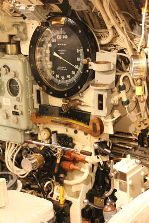 Control system on board a decommissioned submarine.
