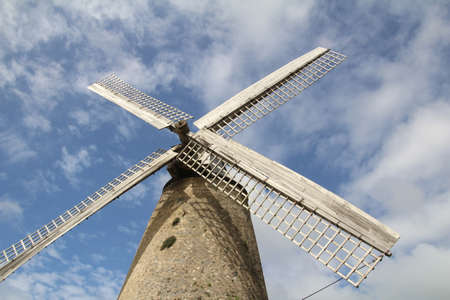 The Morgan Lewis Windmill is the last working sugar mill on the island of Barbados.
