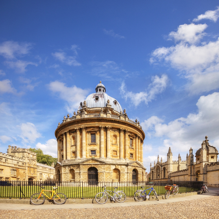 Oxford Radcliffe Camera Square 免版税图像 - 94801774