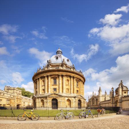 Praça da câmara de Oxford Radcliffe Foto de archivo - 94801774