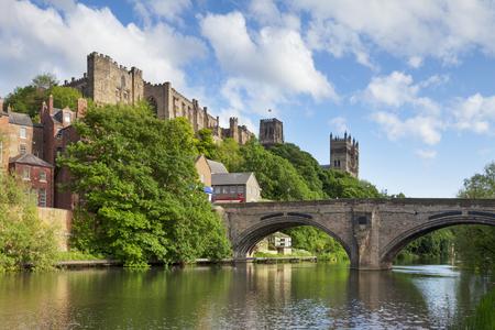 Durham Castle and Cathedral Framwellgate Bridge England