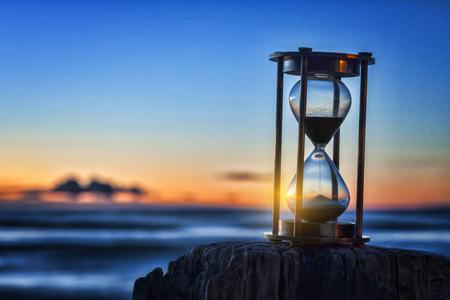 Hourglass Sunrise Outside