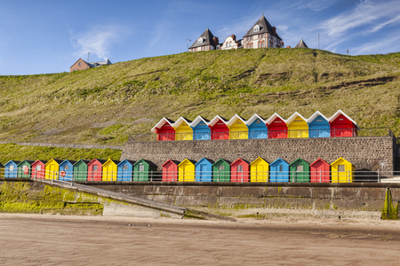 Whitby North Yorkshire UK Beach Huts