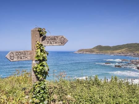 Woolacombe Sign South West Coast Path