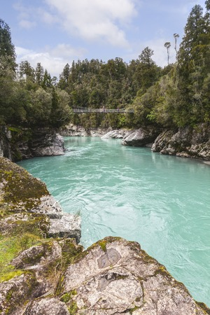 Hokitika Gorge, West Coast, New Zealand Stock Photo