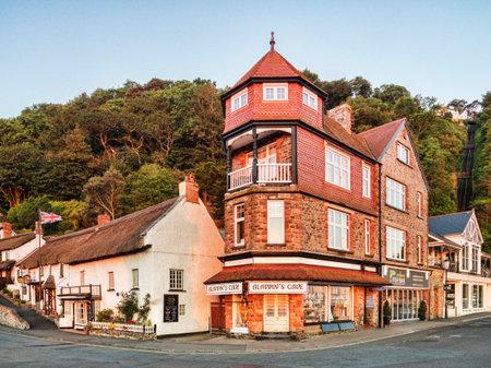 Lynmouth, Devon, UK