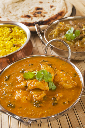 Butter Chicken Indian Curry Stock Photo - 98255693