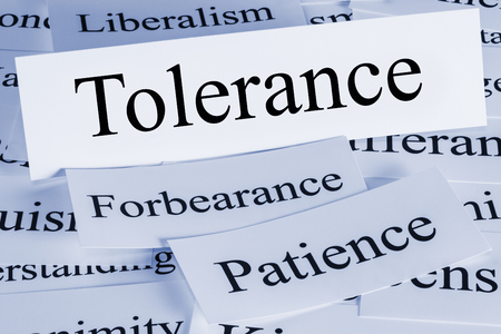 Tolerance Concept and Patience and Forbearance