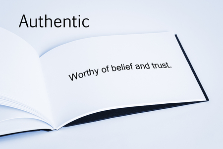 Authentic Concept and Definition