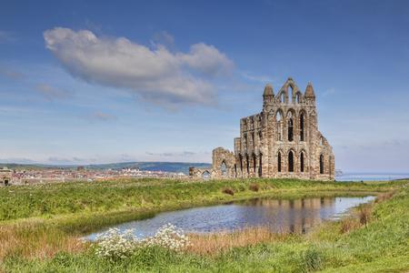Whitby Abbey North Yorkshire UK Stock Photo
