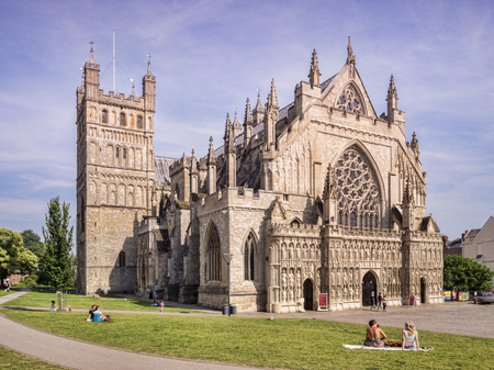 Exeter Cathedral UK