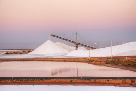 Salt Stockpile Port Hedland Australia
