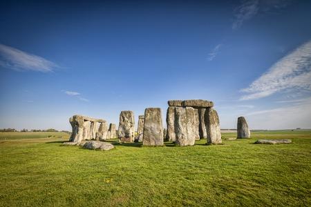 Stonehenge in Spring Archivio Fotografico