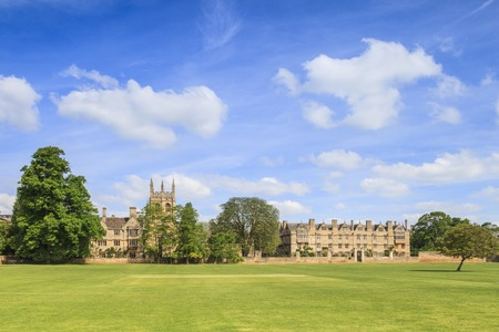 Merton College, Oxford Stock Photo