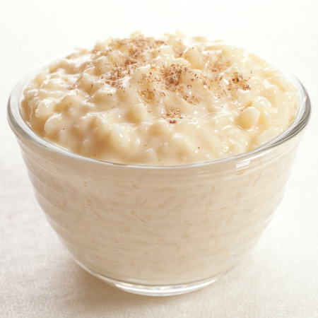 Rice Pudding with Nutmeg 免版税图像 - 101619164