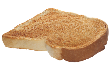 Skice of Toast on White Stock Photo