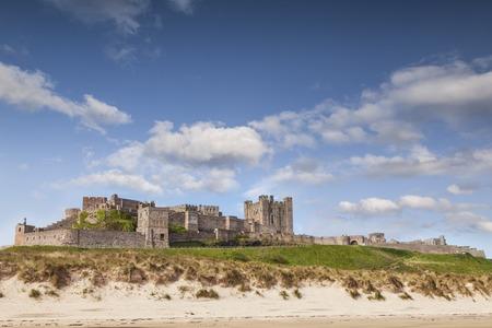 Bamburgh Castle Northumberland England