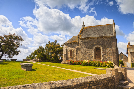 Saint Vaast La Hougue Sailors Chapel Normandy France