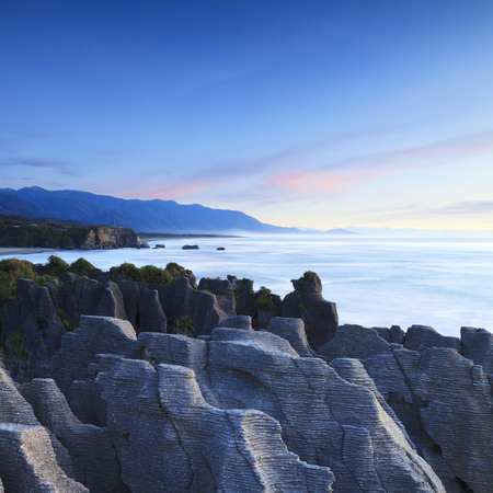 Pancake Rocks Dolomite Point Punakaiki New Zealand