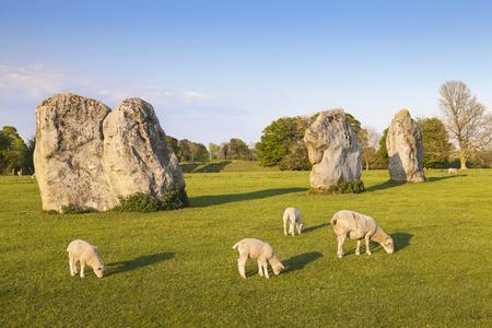 Avebury Stone Circle England UK