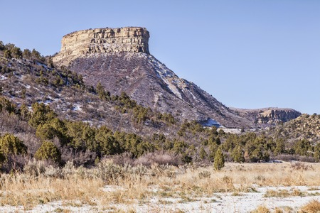 Mesa Verde National Park, Colorado. Stock Photo