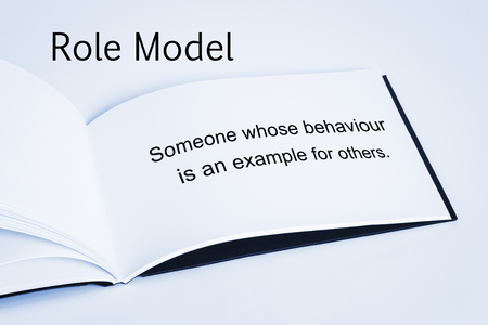 Role Model Concept Stock Photo