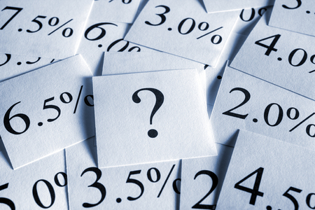 Variabler Zinssatz Standard-Bild