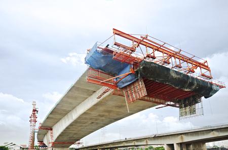 Bridge Under Construction 免版税图像
