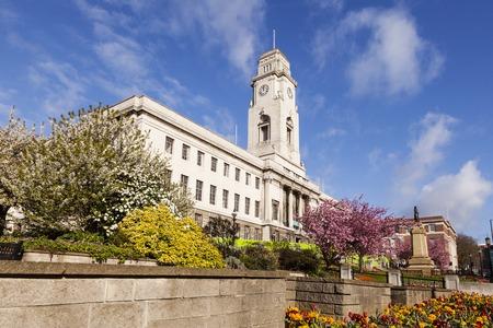 Barnsley Town Hall UK Banco de Imagens