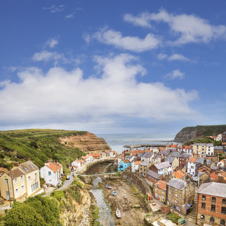 Staithes North Yorkshire UK