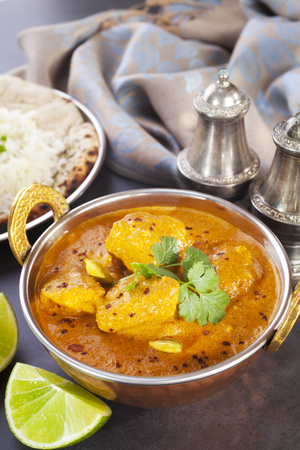 Butter Chicken Curry Stock Photo - 115301731
